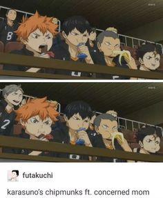 LOL #haikyuu #HQ #Karasuno