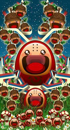 My favourite DEPTHCORE artworks by Caramelaw a.k.a Sheena Aw, via Behance