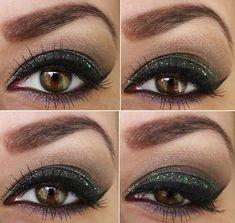 Maquillaje para Ojos marrones 7