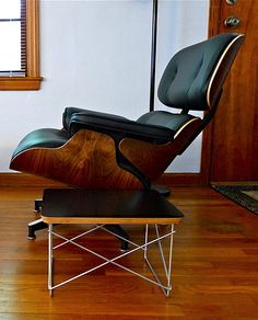 Via Grey Anemone | Eames Lounge Chair and Ltr | Midcentury Modern