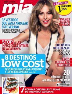 Revista #Mía 1549. 8 destinos low cost. Los trucos de #belleza de Esmeralda Moya.