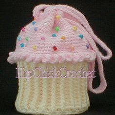 Cupcake Purse Crochet Pattern
