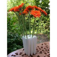 Dutch design only.  Three by three vase by Laurens van Wieringen.  100% Made in Holland