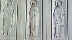 kilise kapıları woodart  wood carving door