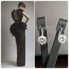 ASHI Studio Dress & BrideIstanbul Earrings