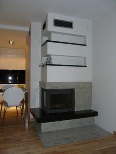 obudowy kominka - Szukaj w Google Wood Burner, Fireplace Design, Modern Fireplaces, New Homes, Foyers, Angles, Google, Home Decor, Ideas