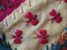 Button Butterflies