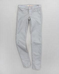 Glitter Power Stretch Jeans by J Brand Jeans