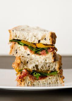 Sandwich d'automne au potiron // Pumpkin sandwich