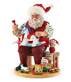Possible Dreams Fisher Price Toys Santas Workshop Figurine #Dillards