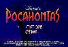 Pocahontas- SEGA game ROM