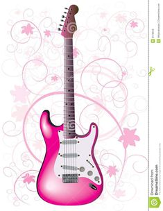 roze gitaar - Google zoeken