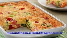 Não Faça Dieta, Mude Hábitos!: Omelete light de forno.