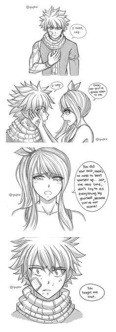 Some feels I needed to get out of my chest ;u; (c) Fairy Tail - Hiro Mashima Art by me. Do NOT repost without credit.