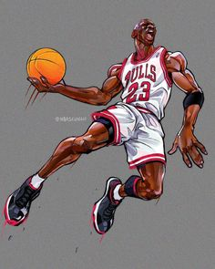 Michael Jordan Basketball, I Love Basketball, Jordan 23, Nba Basketball, Jordan Logo Wallpaper, Michael Jordan Wallpaper Iphone, Michael Jordan Images, Jersey Adidas, Basketball Drawings