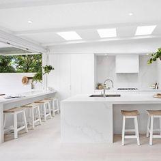 Kitchen inspo via @threebirdsrenovations #simplestyleco