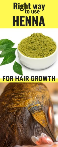 Right Way To Use Heena For Hair Growth, #Growth #Hair #Heena