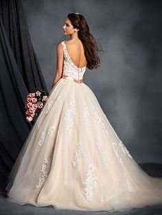 My actual wedding dress! Alfred Angelo Bridal Style 2508 from Alfred Angelo's Bridal Collections and Wedding Styles Size 12 Wedding Dress, Classic Wedding Dress, Bridal Wedding Dresses, Wedding Dress Styles, Bridal Style, Bridesmaid Dresses, Blush Bridal, Prom Dresses, Formal Dresses