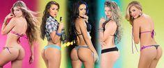 Estas son las 5 finalistas a la mejor cola de Colombia 2013:  -Sofia Jaramillo -Manuela Gomez -Elianis Garrido -Angelica Jaramillo -Elizabeth Loaiza