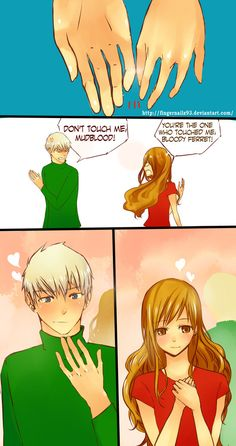 Dramione Comic Strip by FingernailZ93.deviantart.com on @deviantART