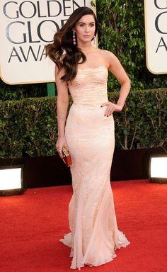 Megan Fox in Dolce & Gabbana.  Golden Globes: http://www.zimbio.com/pictures/nbWjkBbZp94