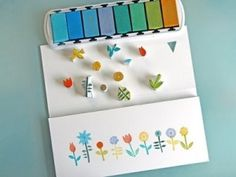 DIY make your own hand carved stamps. by gertrude
