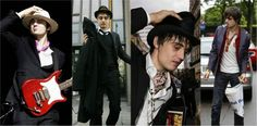 Stylish Men: Fashion Inspired by Pete Doherty
