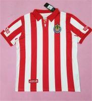 f3073f645 Chivas 2008 Season Home Retro Red White Liga MX Shirt Jersey Chivas Rayadas  De Guadalajara