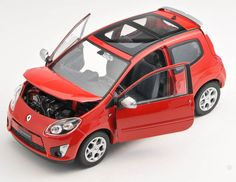 BLITZ VERSAND Renault Twingo GT rot / red Welly Modell Auto 1:24 NEU & OVP…