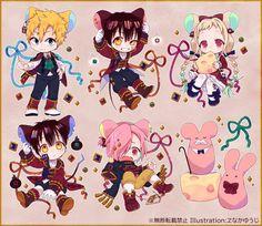 Chibi, Cute Characters, Anime Boy, Kawaii, Shonen, Cute Art, Hanako, Manga, Cartoon As Anime