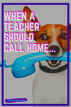 There is a huge stigma around phone calls home from school. Immediately, the vision is that a student is in trouble of some sort and parental intervention is necessary. But honestly, when should a teacher call home? It is much more beneficial to be proactive. What does that mean? Plainly stated, it is more proactive to reach out to families consistently, before there is a problem. You may think this is easier said than done but think again.