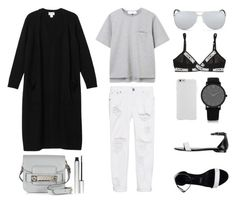 """""""Monday Comfort"""" by fashionlandscape ❤ liked on Polyvore featuring Orciani, Case-Mate, Christian Dior, Moschino, One Teaspoon, Monki, Larsson & Jennings, Proenza Schouler and rms beauty"""