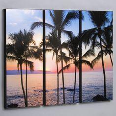 Found it at Wayfair - Puerto Vallarta Sunset 3 Piece Photographic Print Set