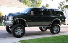 Lifted Ford | Ford excursion lifted / FORD Excursion 2000-2005 - huge collection of ...