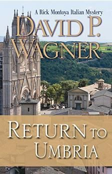 Book 4 in an armchair traveler series with a murder mystery for Italian-American Rick to help solve.