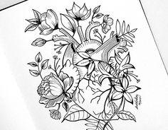 """Check out new work on my @Behance portfolio: """"Estudo para tattoo finalizado com caneta nanquim"""" http://be.net/gallery/54261337/Estudo-para-tattoo-finalizado-com-caneta-nanquim"""