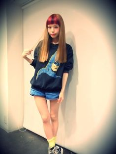 Seto Ayumi, Zipper model (japanese fashion)