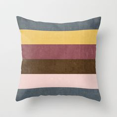 Copious Colors Throw Pillow by Tracey Krick - $20.00