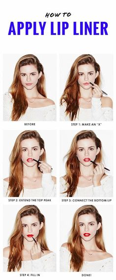 How to Line Perfectly Every Time Your Lips