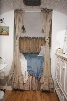 Stunning bedroom space for a Vintage Van