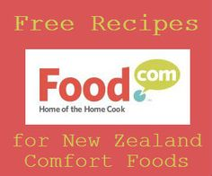 Free New Zealand Comfort Food Recipes