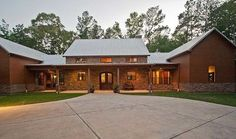 Hill Country Home with Massive Porch - 46052HC thumb - 02