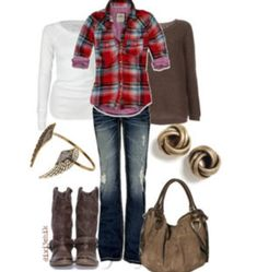 Gotta have my cozy plaid!