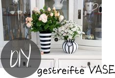 creativLIVE: DIY gestreifte Vase