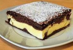 Cookie Recipes, Dessert Recipes, Desserts, Slovak Recipes, European Dishes, Good Food, Yummy Food, Sweets Cake, Healthy Diet Recipes