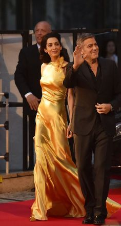 Amal and George Clooney on the red carpet in Tokyo for Tomorrowland – 25.05.2015