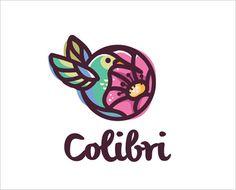 Colibri-Bird-Circular-Logo-Design
