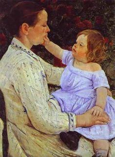 mary cassatt paintings - Google Search