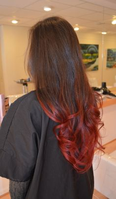 Red ombre #salonsimis