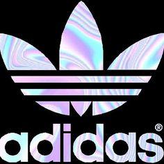 Adidas Logo Holographic